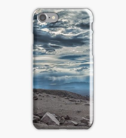 Storm on Pike's Peak  iPhone Case/Skin