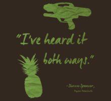 I've heard it both ways. by Britisaur