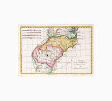 Vintage Map of The Carolinas (1780)  Unisex T-Shirt