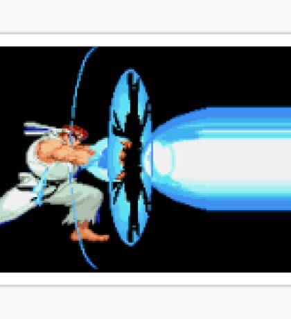 Ryu Fireball  Sticker