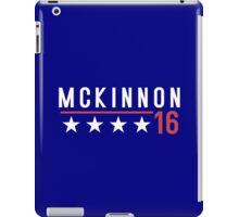 McKinnon for President - 2016 iPad Case/Skin