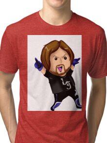 Chibi Aj styles Tri-blend T-Shirt