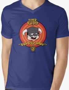 Dwagonborn Mens V-Neck T-Shirt