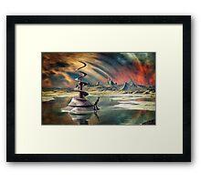 Juggler's Paradise Framed Print
