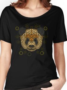 Panda Face Women's Relaxed Fit T-Shirt