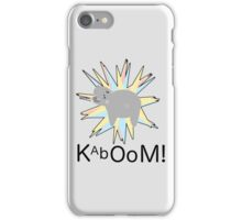 Hippo Explosion iPhone Case/Skin