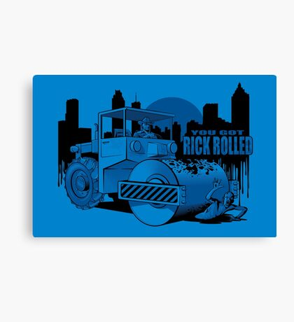 Rick Rolled Canvas Print