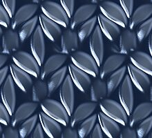 Blue leaves design for cases  ( 2127 Views) by aldona
