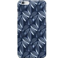 Blue leaves design for Leggings, cases ,Pillows,Totes( 4234 views) iPhone Case/Skin
