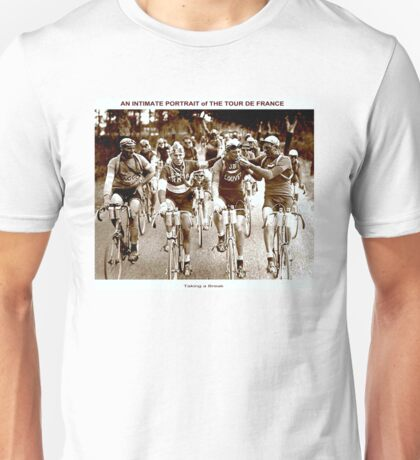 TOUR DE FRANCE; Vintage Cycle Racing Advertising Photo Unisex T-Shirt