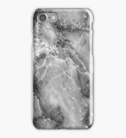 MARBLE - BLACK AND WHITE [iPhone case] iPhone Case/Skin