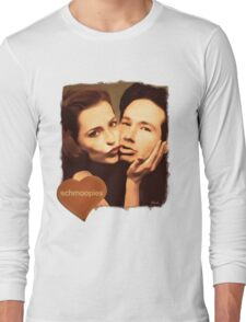 Gillian and David - The Schmoopies Long Sleeve T-Shirt