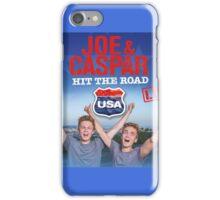 JOE & CASPAR HIT THE ROAD iPhone Case/Skin