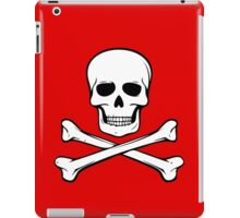 Skull and Crossbones iPad Case/Skin