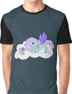 My Little Unicorn-Cat Graphic T-Shirt