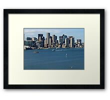 Boston - MA, USA Framed Print