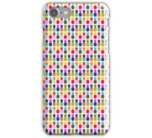 Pineapple Colourful Pattern (tight) iPhone Case/Skin