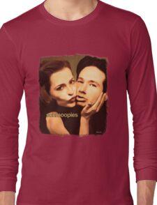 Gillian and David - Schmoopies Long Sleeve T-Shirt