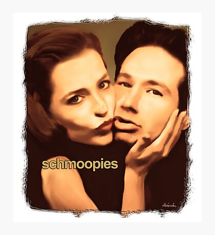 Gillian and David - Schmoopies Photographic Print
