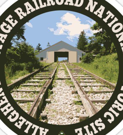 Allegheny Portage Railroad National Historic Site circle Sticker