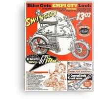 VW hotrod parts dream bike Metal Print