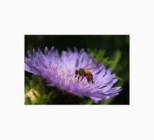 Bee on purple flower Unisex T-Shirt