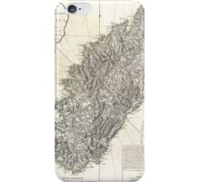 Vintage Map of Corsica (1794)  iPhone Case/Skin