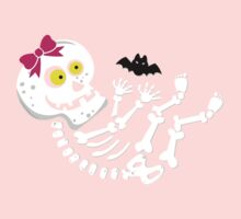 Maternity Skeleton Its a Girl Kids Clothes