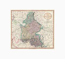 Vintage Map of Bavaria Germany (1799) Unisex T-Shirt