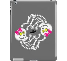Maternity Skeleton Twin Girls iPad Case/Skin
