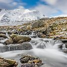 Snowdonia Mountain River by Adrian Evans