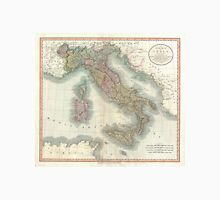 Vintage Map of Italy (1799)  Unisex T-Shirt