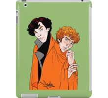 Crash Landings and Shock Blankets iPad Case/Skin