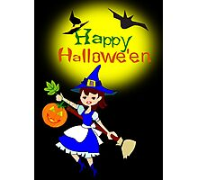Halloween  Card (4010 Views) Photographic Print