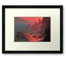 Giant's Rest Framed Print