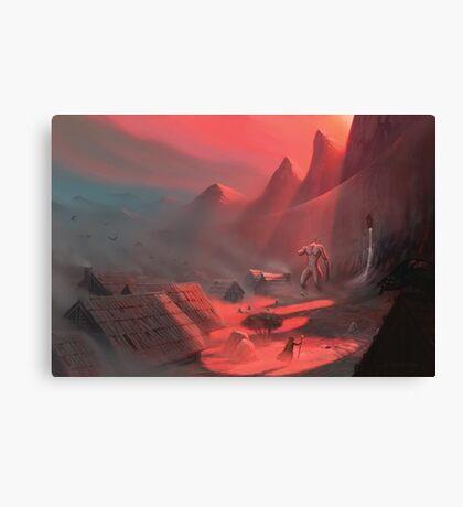 Giant's Rest Canvas Print