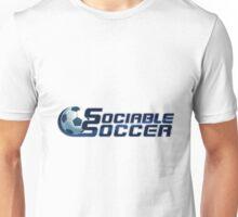 Official Sociable Soccer Simple logo design Unisex T-Shirt