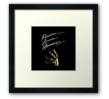 The Hand Of Daft - Guy-Manuel Framed Print