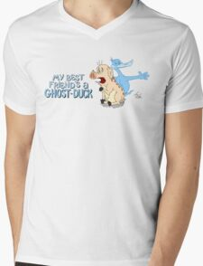 Best Friends Always Have Each Other's Backs (Even In The Afterlife) Mens V-Neck T-Shirt