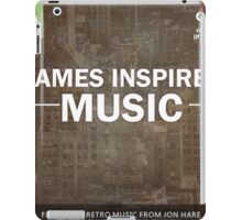 Games Inspired Music iPad Case/Skin