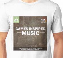 Games Inspired Music Unisex T-Shirt