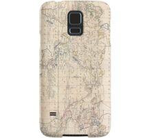 Vintage Map of The World (1799) Samsung Galaxy Case/Skin