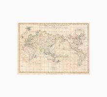 Vintage Map of The World (1799) T-Shirt
