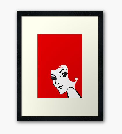 Red - Redheads Framed Print