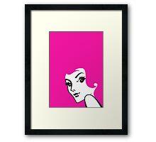 Barbie Pink - Redheads Framed Print