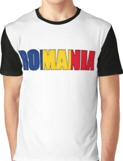Romania Flag  Graphic T-Shirt