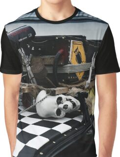 human skeleton, car tuning Graphic T-Shirt