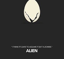 Alien Movie Poster by byxii