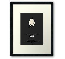 Alien Movie Poster Framed Print