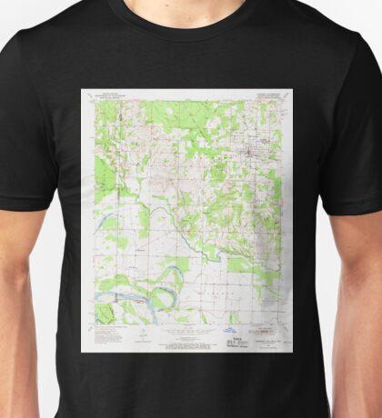USGS TOPO Map Arkansas AR Foreman 258471 1951 24000 Unisex T-Shirt